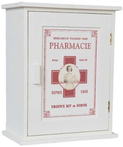 #Nostalgischer Arzneischrank PHARMACIE Schränkchen Holz#