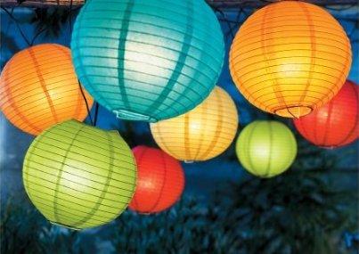 Paper lanterns 16