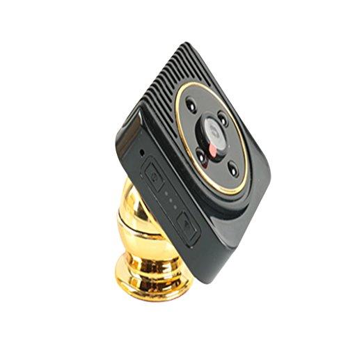 Sharplace H5 Caméra Éspion Détecteur Mouvement Camera Portable Caméscope de Surveillance Cachée - Noir