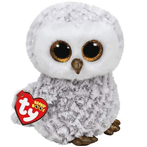 """Beanie Boo Owl - Owlette - White - 24cm 9"""""""