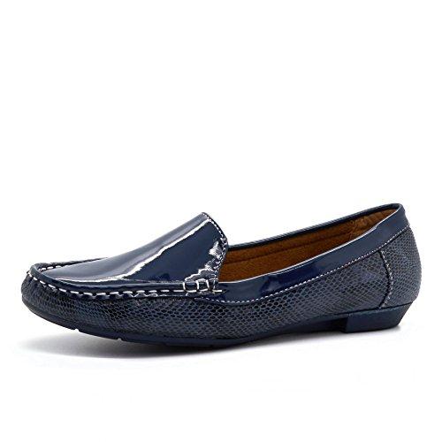 London Footwear , Sandales Compensées homme Bleu