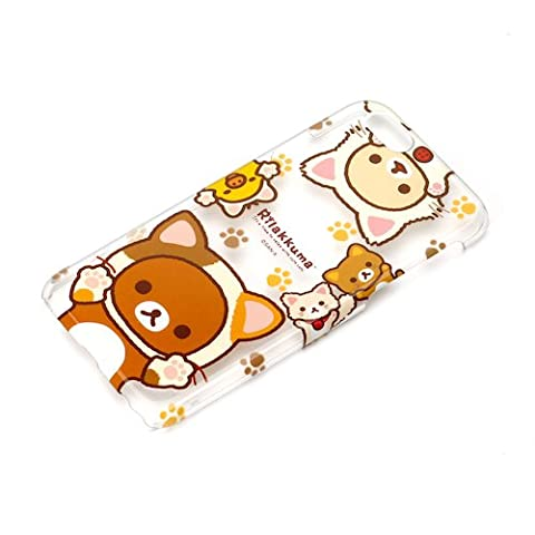 Usa Costume Pour Kid - Rilakkuma chat iPhone 6S/6 Transparent Coque San-X kawaii