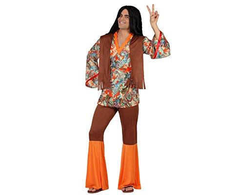 Disfraz de Hombre Hippie Estampado para hombre en varias tallas