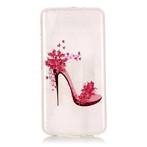 KSHOP Per Huawei Y6 Custodia Conchiglia fit ultra sottile Silicone Morbido Flessibile TPU Custodia Case (Colonne Lisce)