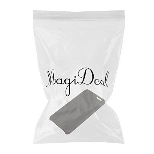 MagiDeal Magische Heat Sensitive Case Thermosensor Induktions Handytasche Tasche Hülle Handyhülle Für Iphone Handy - Schwarz zu grün Für Iphone 7 Plus Schwarz zu Grün Für iPhone 6 / 6s Plus