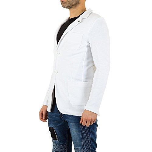 Uniplay Blazer Jacke Für Herren bei Ital-Design Weiß