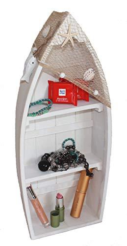 AAF Nommel  Asia Art Factory Bootsregal 02, Stand- oder Hängeregal 48,5 x 19,5 x 7,5 cm -