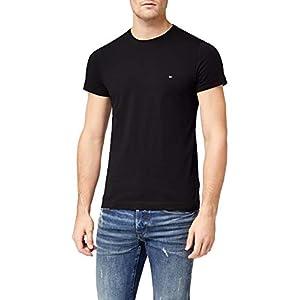Tommy Hilfiger Herren Core Stretch Slim Cneck Tee T-Shirt