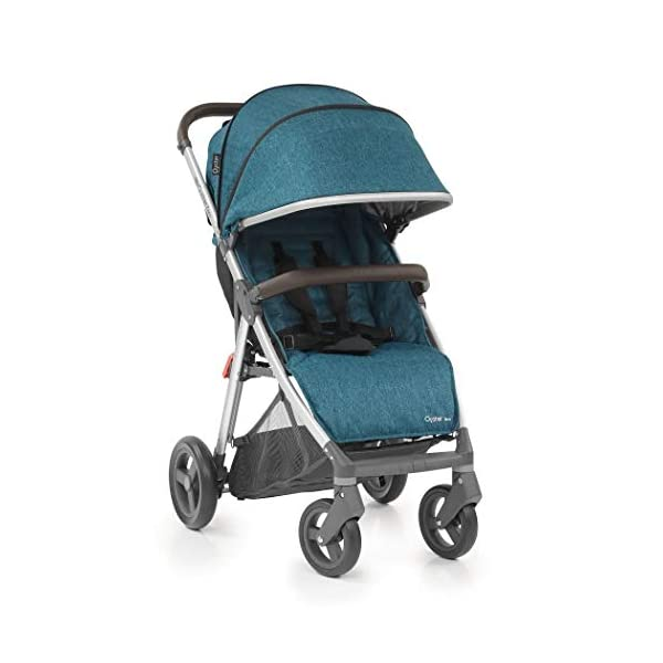 BabyStyle Oyster Zero Pushchair (Regatta) Babystyle Suitable from birth with multi position recline Lightweight only 7.9kg with easy compact fold Extendable hood with small storage pocket 1