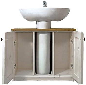 Mobile Bagno Copricolonna: MOBILE COPRICOLONNA ARREDO BAGNO MOBILI L75 P42 H62 DM Casa S.r.l..
