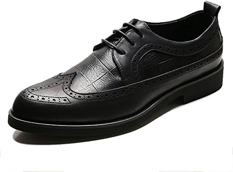 Zapatos Derby De Cuero Para Hombre Zapatos De Vestir Clásicos Zapatos Casuales Zapatos Con Cordones Zapatos Para... -