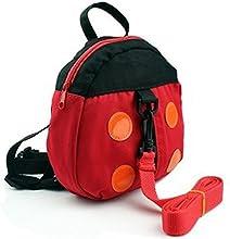 amyjazz arnés de seguridad Mochila Infantil anti-lost banda de belt-ladybug para bebé