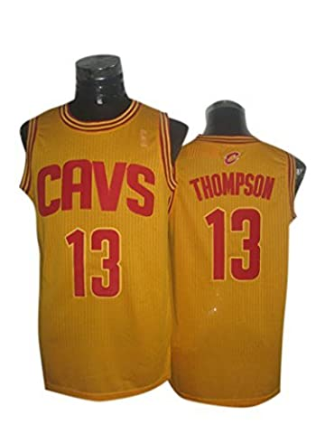 Cavaliers 13 Thompson Gold New Revolution 30 Jerseys Size-S by Parkes