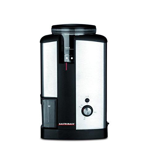 Gastroback 42602 Edelstahl-Hochleistungsmahlwerk mit 32 Feinheitsgraden