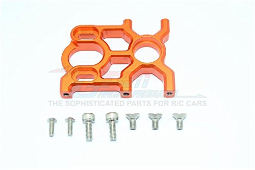 G.P.M. Arrma KRATON 6S BLX / Outcast 6S BLX Tuning Teile Aluminium Center Differential and Motor Mount - 1 Set Orange (Aluminium Motor Mount)