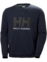 Helly Hansen HH Logo Crew Sweat Sudadera, Hombre, Azul (Azul 994), X-Large (Tamaño del Fabricante:XL)