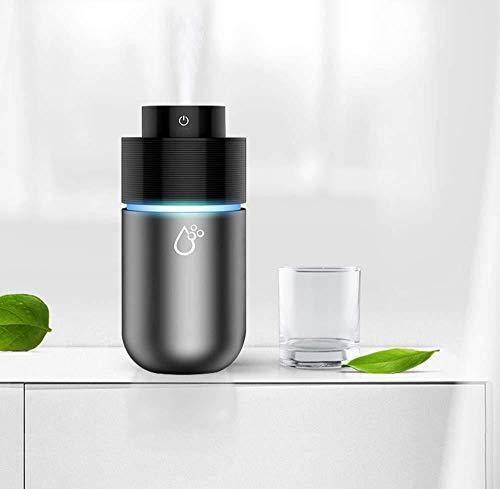 Luce notturna Umidificatore USB umidificatore per auto due in uno macchina per aromaterapia auto mute deodorante per auto portatile aromaterapia macchina con luci a LED per viaggi in ufficio auto