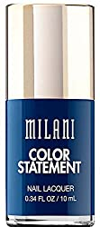 Ink Spot : Milani Color Statement Nail Lacquer, Ink Spot, 0.34 Fluid Ounce