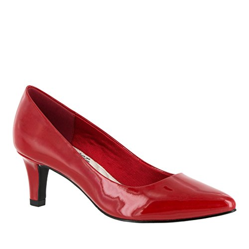 Easy Street Pointe Femmes Large Synthétique Talons red
