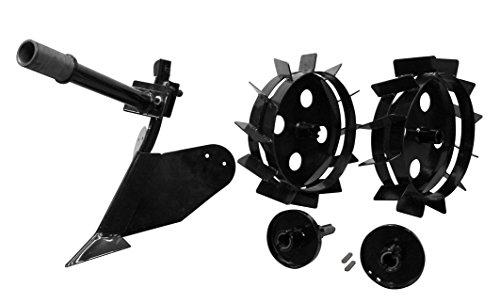 Güde 95186 GPF 300 Pflug zu 95180 (Gitterräder, Achsverbreiterung, Verstellbare Pflugkörper, Verstellbare Pflugneigung) -
