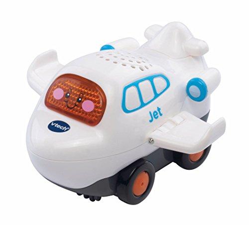 Vtech Baby 80-188104 - TUT Flitzer - Jet, weiß (Musik-jet)
