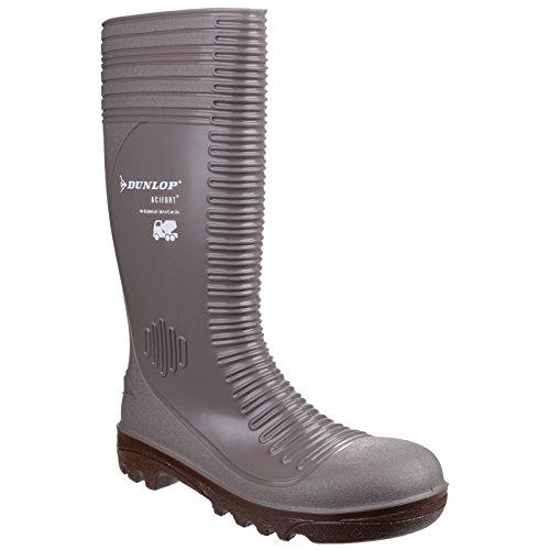 Dunlop - A242A31 Acifort - Stivali antinfortunistici - Uomo Grigio/Marrone