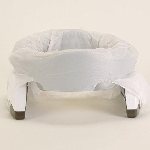 Potette Plus Pot Portable 2en 1(Gris/Blanc)
