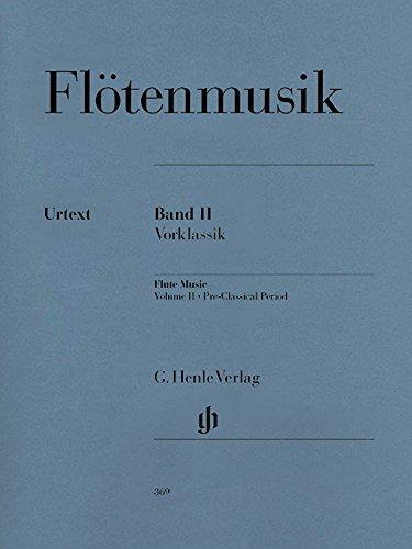 Musique pour Flûte Vol.2 (Pré-Classique) - Flûte/Piano
