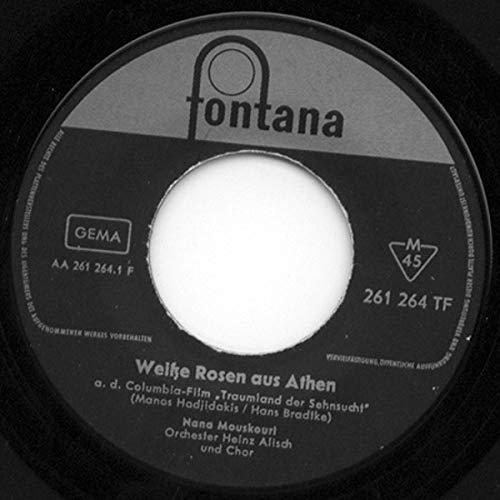Nana Mouskouri - Weiße Rosen Aus Athen - Fontana - 261 264 TF - 261 Rose