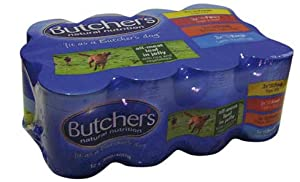 Butchers All Meat Loaf Dog Food Variety 12 Pack 400g from Butchers