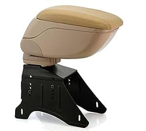 Car Centre Console Hand Armrest (Beige) for Maruti Suzuki Baleno Delta AT