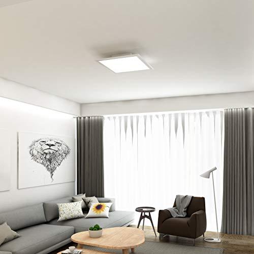 Briloner Leuchten – LED Deckenleuchte-Panel, LED-Lampe ...