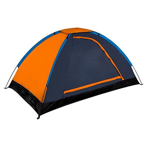 Aktive - Tienda campaña 2 personas - 197x115x100 cm - Naranja (ColorBaby 85075)