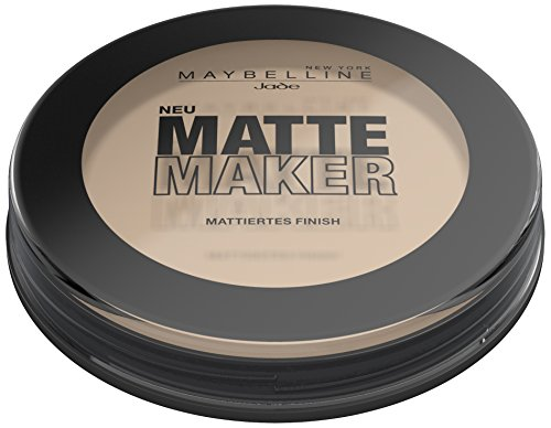 Maybelline New York Matte Maker Mattifying Puder, 20 Nude Beige, 1er Pack (1 x 16 g)