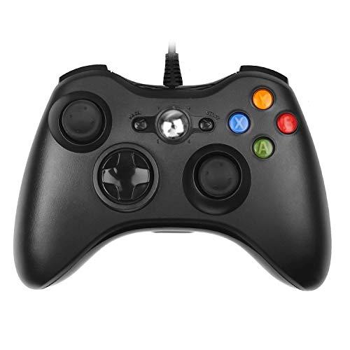 PowerLead Wired Controller di Gioco Joystick Gamepad (per Xbox 360(Nero))