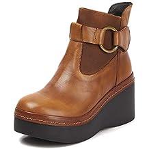 Suchergebnis auf Amazon.de für: Keilstiefelette Leder