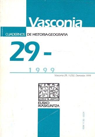 Vasconia. Cuadernos de Historia y Geografía. / nº 29
