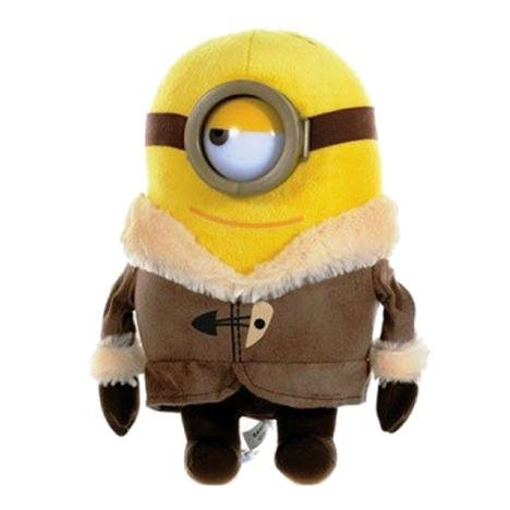 Minion Stuart Ice Village With Bear Plush - Minion Movie - 28cm 11""