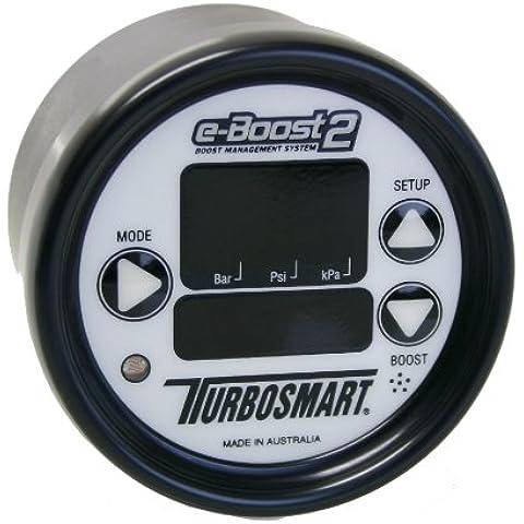Turbosmart ts-0301–1005Boost Controller, 60PSI, 60mm), color blanco/negro