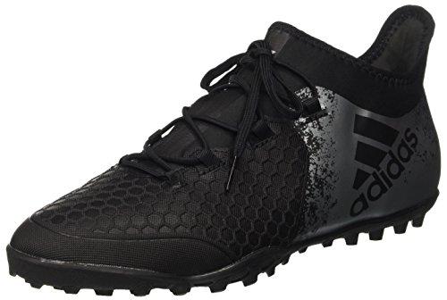 adidas Herren X 16.2 Cage Fußballschuhe, Schwarz (Core Black/Core Black/Solar Red), 43 1/3 EU