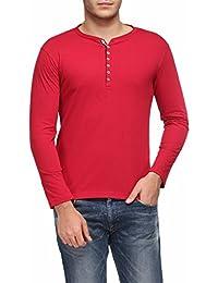 TSX Men's Cotton Henley T-Shirt