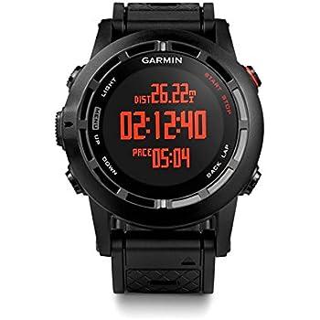 Garmin Fenix 2 Performer GPS da Polso Multisport, Altimetro, Barometro, Bussola e Notifiche Smartphone, Fascia Cardio Premium HRM Run, Nero