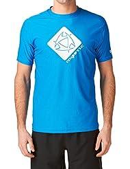Mystic Crossfire Star Secado Rápido Manga corta - Azul Protección UV Camiseta