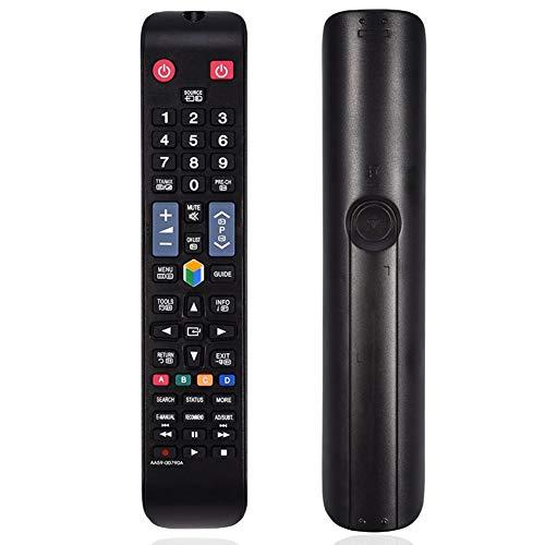 Zerone Ersatz Fernbedienung für SAMSUNG Smart TV Universal Fernbedienung Fernseher TV Remote Control für SAMSUNG AA59-00790A BN59-01178B BN59-01178r