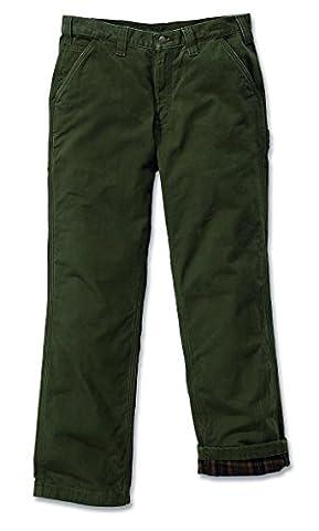 Carhartt 100070 washed twill dungaree 880060 lined pantalon de travail -