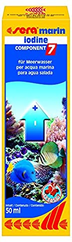 sera 03431 marin Component 7 iodine 50 ml - Enthält das wichtige Spurenelement Iod
