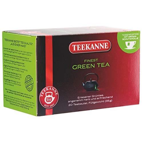 Teekanne Premium Green Tea, 20 Aufgussbeutel, 1er Pack
