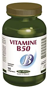 Vitamine B50 - 50 comprimés