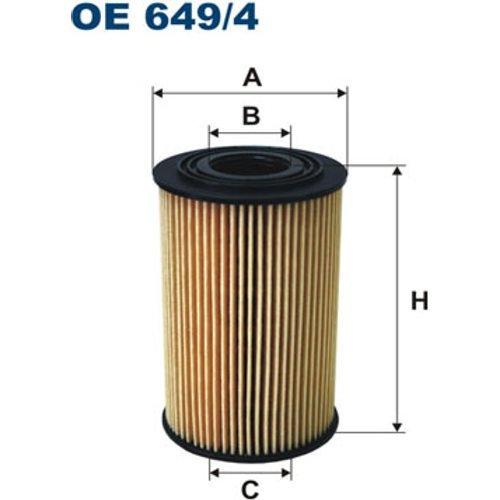 FILTRON OE649/4 Ölfilter (Filtron Ersatzteile)