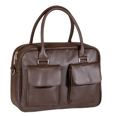 Lässig lub306 – Fashion Urban Bag – Design : Cuir synthétique – Couleur : Choco